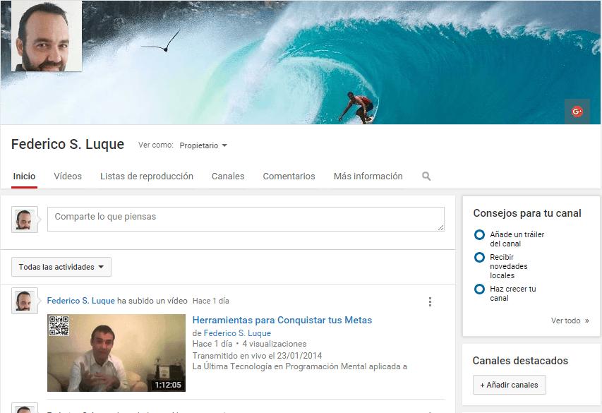 Federico Luque Youtube