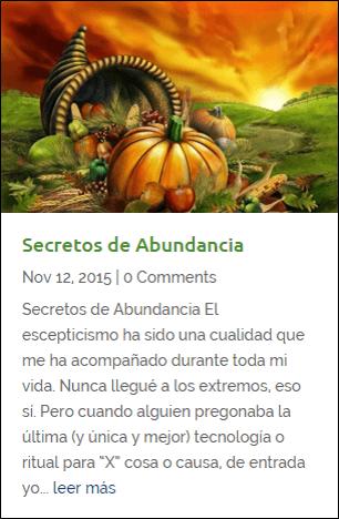 Secretos de Abundancia